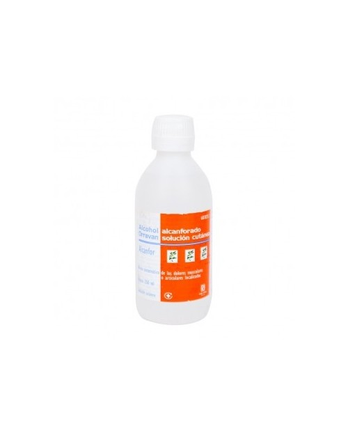 Orravan Alcohol Alcanforado 500ml