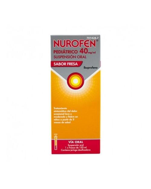 Junifen EFG20MG/ML Suspensión Oral 200ml Fresa