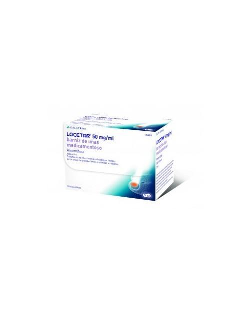 Locetar 50mg/ml Barniz Uñas medicamentoso 5ml