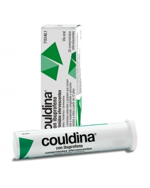 Couldina con Ibuprofeno 20 Comprimidos Efervescentes