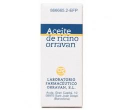 ACEITE RICINO ORRAVAN (SOLUCION ORAL 25 G )
