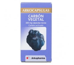 ARKOCAPSULAS CARBON VEGETAL (225 MG 50 CAPSULAS )