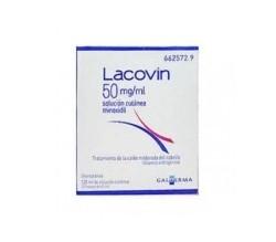 LACOVIN (50 MG/ML SOLUCION CUTANEA 2 FRASCOS 60 ML )