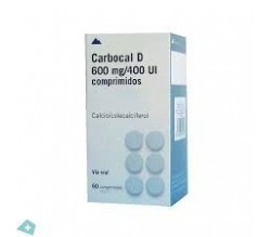 CARBOCAL (1500 MG (600 MG CA) 60 COMPRIMIDOS )