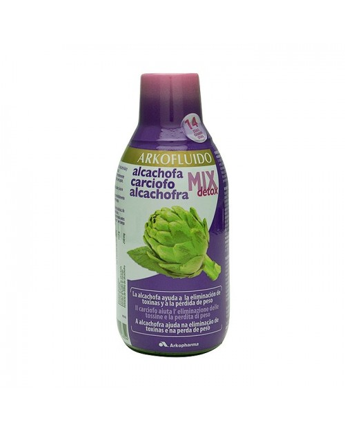 Arkofluido Alcachofa Mix Detox 280ml