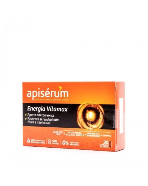 Apiserum Energía Vitamax 30 Cáps