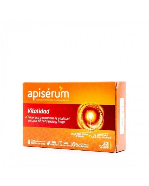 Apiserum Vitalidad 30 Cáps