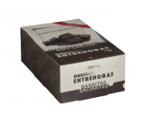 Obegrass Entrehoras Chocolate Negro 20 Unds