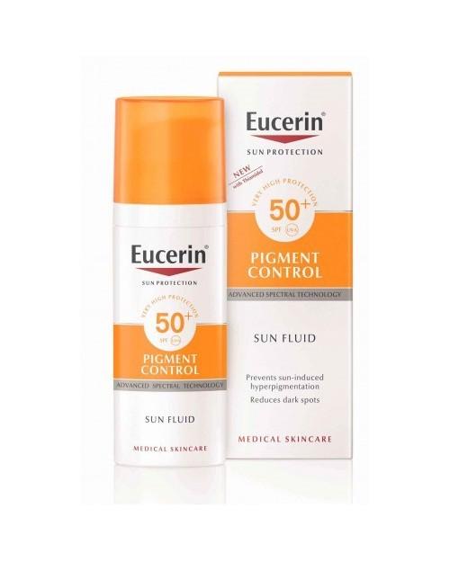Eucerin Sun Fluid Pigment Control SPF50+ 50ml