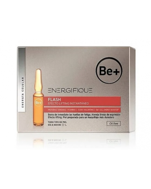 Be+ Energifique Ampollas Efecto Flash 5Unds x 2ml