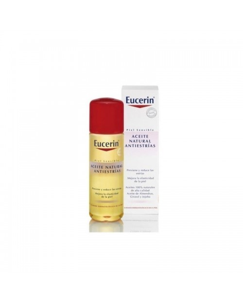 Eucerin aceite natural antiestrías 125ml