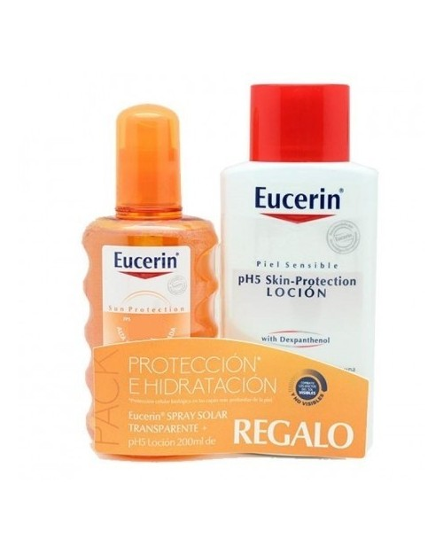 Eucerin Sun Spray 50+ 200ml + Locion Ph5 Skin-protection 200ml